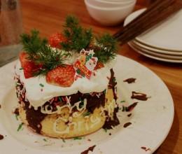 圣诞蛋糕。