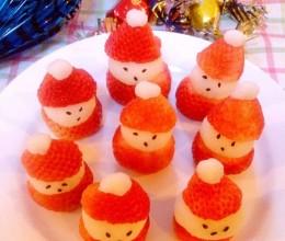 草莓山药圣诞老人