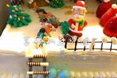 圣诞欢庆蛋糕