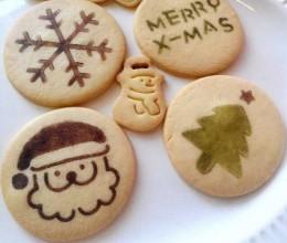 可爱的圣诞饼干