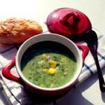 奶油菠菜火腿玉米浓汤