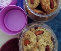杏仁燕麦饼干(糖尿病无糖无淀粉)