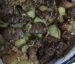 羊肉烤土豆