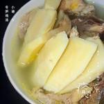 冬笋煲土鸡汤