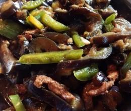 茄子辣椒炒肉