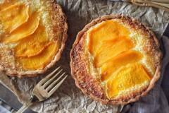 椰子芒果挞