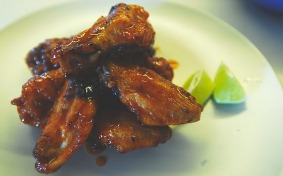 东南亚风味烤鸡翅