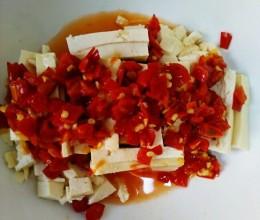 剁椒豆腐(蒸)