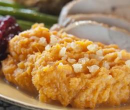 橙子姜粉拌红薯泥