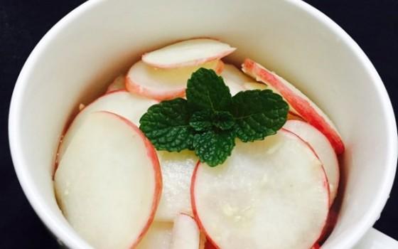 苹果醋水萝卜