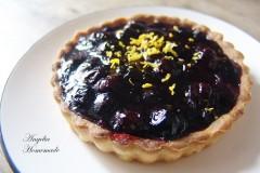 纯素蓝莓挞(蓝莓塔)