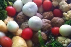 新年菜《团团圆圆》。