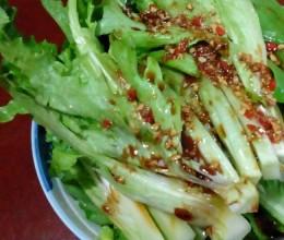生拌油麦菜