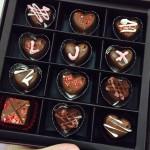 自制情人节生巧克力