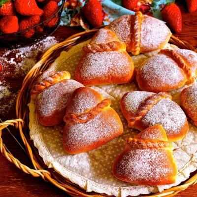 【绳结寄情】草莓甜心绳结面包