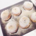酸奶黑芝麻麻薯小面包(附快速发酵法)