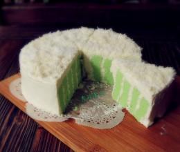 斑斓奶油蛋糕