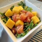 芒果三文鱼沙拉