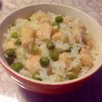 雞肉豌豆燜飯