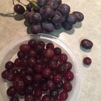 快速洗葡萄