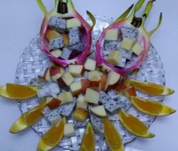 水果拼盘—火龙果