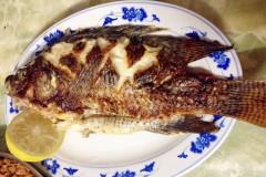 檸香煎鯽魚