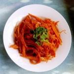 韩式拌明太鱼干丝