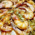 蒜蓉粉丝烤大虾