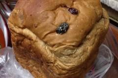 面包机版   全麦提子面包