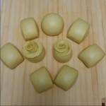 玉米面玫瑰馒头
