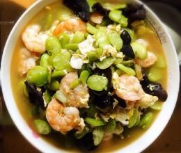 虾仁蚕豆米