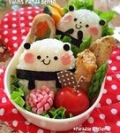 简单的熊猫便当
