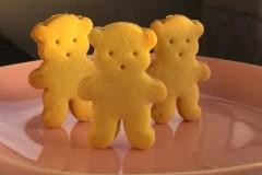 黄油小熊饼干