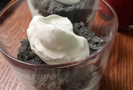 竹炭面包版黑白木糠杯的做法 竹炭面包版黑白木糠杯的家常做法 竹炭