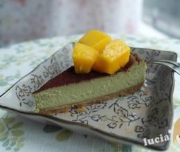 抹茶芝士蛋糕(