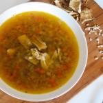 大麦牛肝菌汤