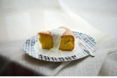 8寸圆模原味戚风蛋糕