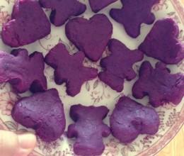 造型紫薯泥