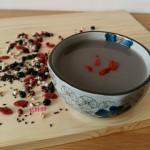 红豆薏米黑豆米糊