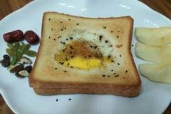 营养早餐-鸡蛋土司