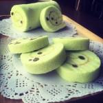 斑斓蜜豆蛋糕卷