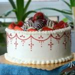 百变草莓奶油蛋糕---抓住草莓季的尾巴