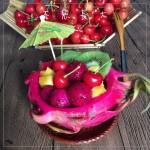 火龙果水果船