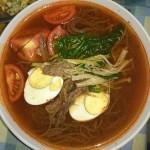 快手韩式荞麦冷面