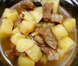 电高压锅土豆炖牛肉