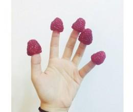 手指树莓❤❤❤
