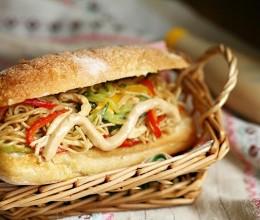 【丘比美食】炒面三明治