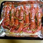盐烤阿根廷红虾