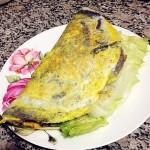 健康营养的粗粮美味早餐—黑米煎饼