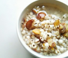 栗子薏米粥